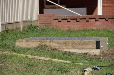 The finished platform