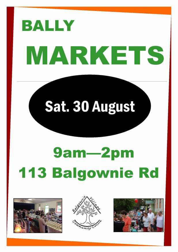 Bally Markets Aug event